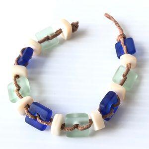 MOP Seaglass Bracelet